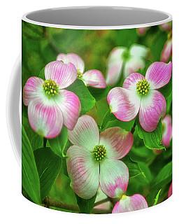 Pink Dogwoods 003 Coffee Mug by George Bostian