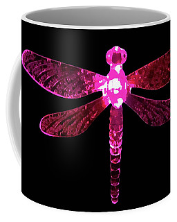 Pink Dragonfly Coffee Mug