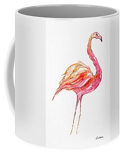 Pink Flamingo Bird Coffee Mug