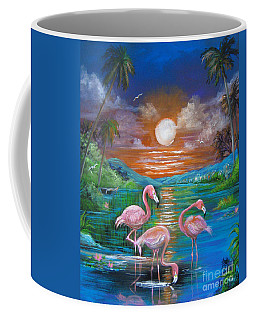 Pink Flamingos Coffee Mug