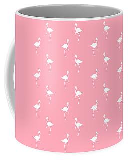 Pink Flamingos Pattern Coffee Mug