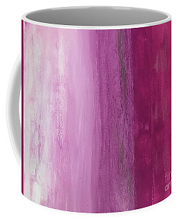 Coffee Mug featuring the painting Pink Flow by Kim Nelson
