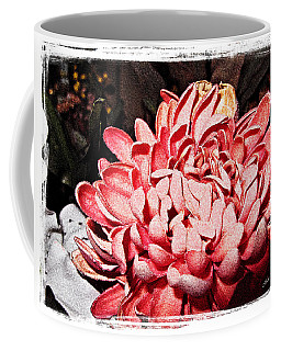 Coffee Mug featuring the photograph Pink Flower by Joan  Minchak