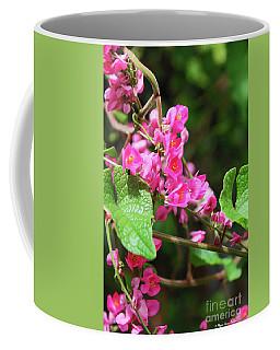 Pink Flowering Vine3 Coffee Mug