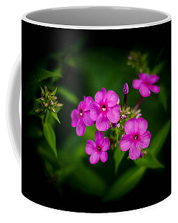 Pink Flowers Vignette Coffee Mug