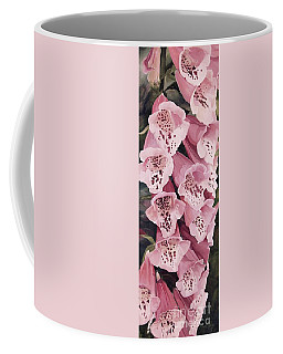 Pink Foxglove Coffee Mug by Laurie Rohner