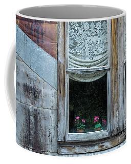 Pink Geraniums Coffee Mug