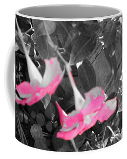 Coffee Mug featuring the photograph Pink Hats  by Cathy Dee Janes