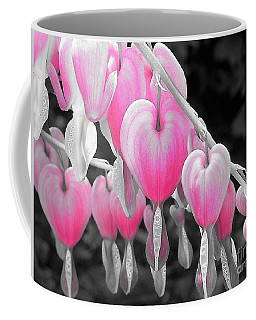 Pink Hearts Coffee Mug