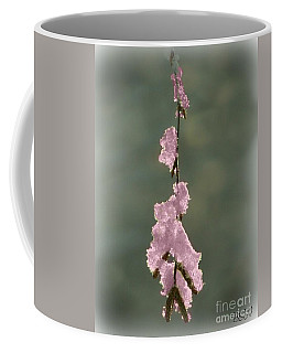 Coffee Mug featuring the photograph Pink Ice by Barbara S Nickerson