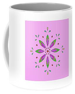 Coffee Mug featuring the mixed media Pink II by Elizabeth Lock