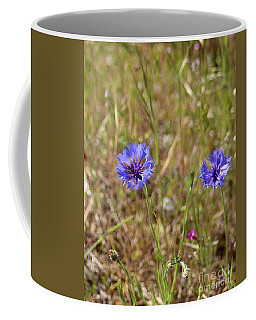 Coffee Mug featuring the photograph Pink In Between by Marie Neder