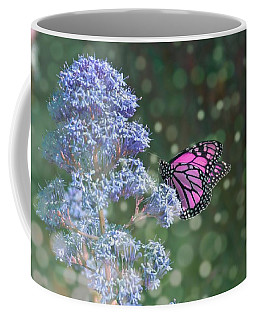 Coffee Mug featuring the photograph Pink Lady by Alison Frank