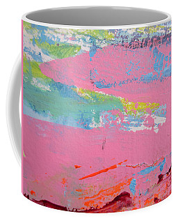 Pink Lake Coffee Mug