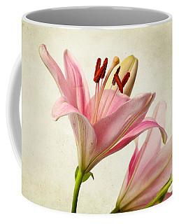 Pink Lilies Coffee Mug