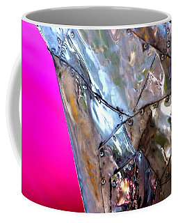Coffee Mug featuring the photograph Pink Lustre  by Prakash Ghai
