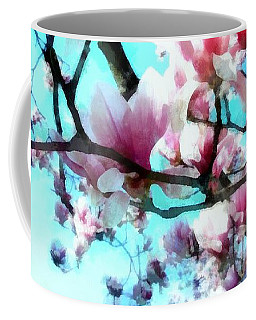 Pink Magnolia Coffee Mug by Janine Riley