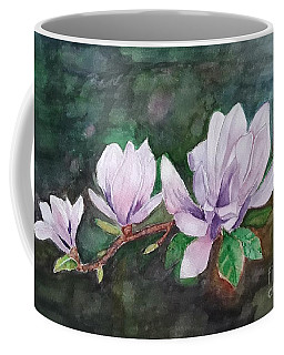 Pink Magnolia - Painting Coffee Mug