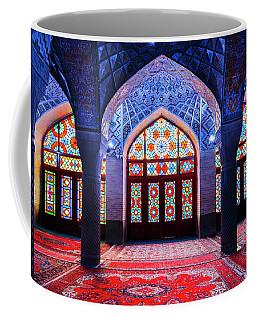 Pink Mosque, Iran Coffee Mug