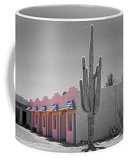 Pink Motel In Arizona Coffee Mug