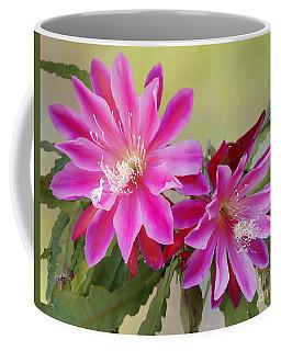 Pink Epiphyllum Lily Coffee Mug