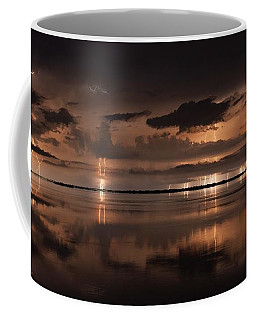 Amber Nights Coffee Mug by Quinn Sedam