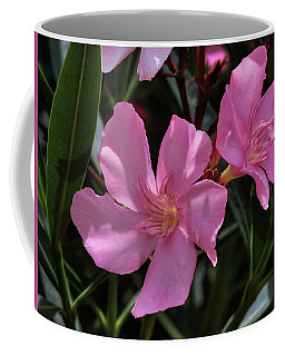 Pink Oleander Coffee Mug