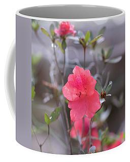 Pink Orange Flower Coffee Mug