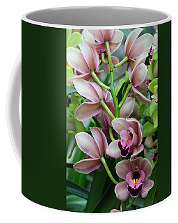 Pink Orchids 2 Coffee Mug