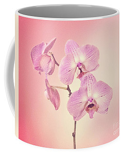 Coffee Mug featuring the photograph Pink Orchids 2 by Linda Phelps