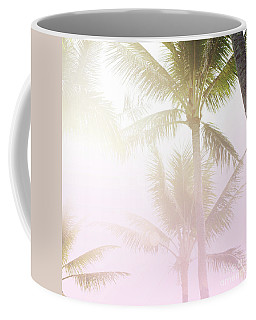 Pink Palms Coffee Mug