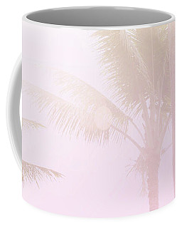 Pink Palms Coffee Mug by Cindy Garber Iverson