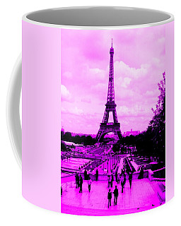 Coffee Mug featuring the photograph Pink Paris by Michelle Dallocchio