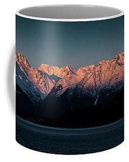 Pink Peaks II Coffee Mug