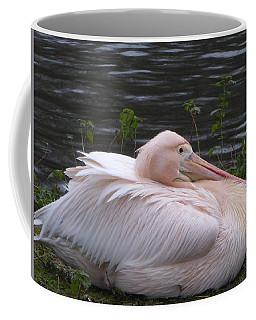 Pink Pelican Coffee Mug