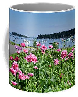 Pink Peonies, Tenants Harbor, Maine #30721 Coffee Mug