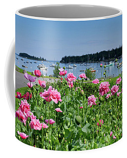 Pink Peonies, Tenants Harbor, Maine #30721 Coffee Mug