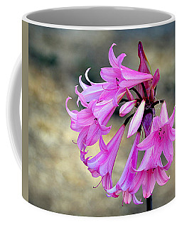 Coffee Mug featuring the photograph Pink Petals by AJ Schibig