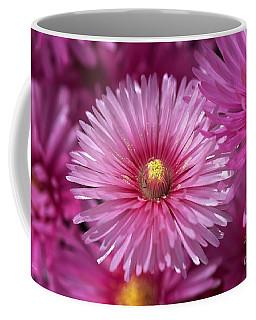 Pink Pigface Flowers Coffee Mug