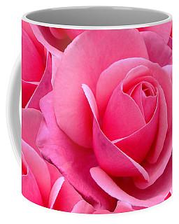 Pink Pink Roses Coffee Mug