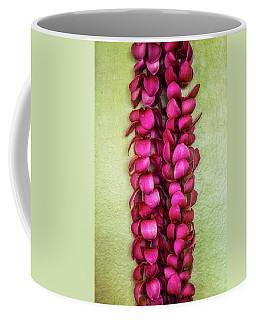 Pink Plumeria Lei Coffee Mug
