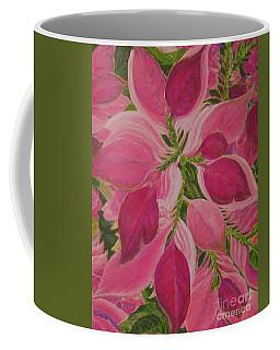 Pink Poinsettia Coffee Mug