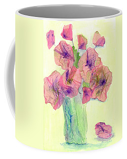 Pink Poppies Coffee Mug