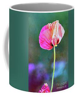 Pink Poppy In The Evening Light Coffee Mug