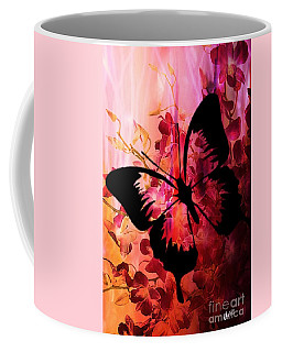 Pink Promises Coffee Mug by Maria Urso