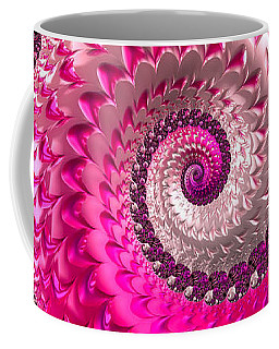 Pink Purple And Red Luxe Girly Spiral Coffee Mug