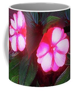 Pink Red Glow Coffee Mug