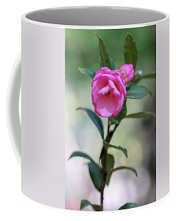 Pink Rose Flower Coffee Mug