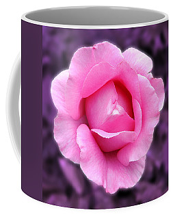 Coffee Mug featuring the photograph Pink Rose by Howard Bagley
