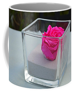 Pink Rose In Venice Coffee Mug